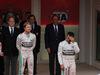 GP MONACO, 24.05.2015- Podium winner Nico Rosberg (GER) Mercedes AMG F1 W06, 3rd Lewis Hamilton (GBR) Mercedes AMG F1 W06