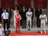 GP MONACO, 24.05.2015- Podium winner Nico Rosberg (GER) Mercedes AMG F1 W06 2nd Sebastian Vettel (GER) Ferrari SF15-T, 3rd Lewis Hamilton (GBR) Mercedes AMG F1 W06