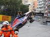 GP MONACO, 24.05.2015- Gara, Max Verstappen (NED) Scuderia Toro Rosso STR10 crash after a contact with Romain Grosjean (FRA) Lotus F1 Team E23 in St. Devote corner