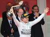 GP MONACO, 24.05.2015- Podium, winner Nico Rosberg (GER) Mercedes AMG F1 W06
