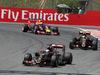 GP SPAGNA, 10.05.2015- Gara, Romain Grosjean (FRA) Lotus F1 Team E23 e Pastor Maldonado (VEN) Lotus F1 Team E23