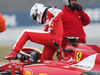 TEST F1 BARCELLONA 21 FEBBRAIO, Sebastian Vettel (GER) Ferrari SF15-T spins off the circuit. 21.02.2015.