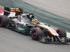TEST F1 BARCELLONA 21 FEBBRAIO, Pascal Wehrlein (GER) Sahara Force India F1 VJM07. 21.02.2015.