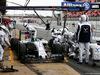 TEST F1 BARCELLONA 21 FEBBRAIO, Felipe Massa (BRA) Williams FW37 practices a pit stop. 21.02.2015.