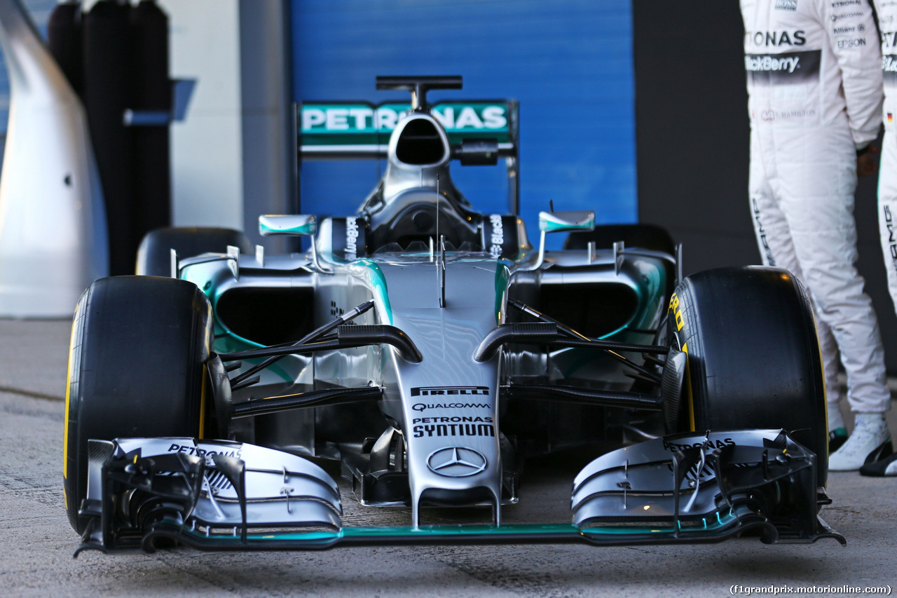 TEST F1 JEREZ 1 FEBBRAIO, The Mercedes AMG F1 W06 is unveiled. 01.02.2015.