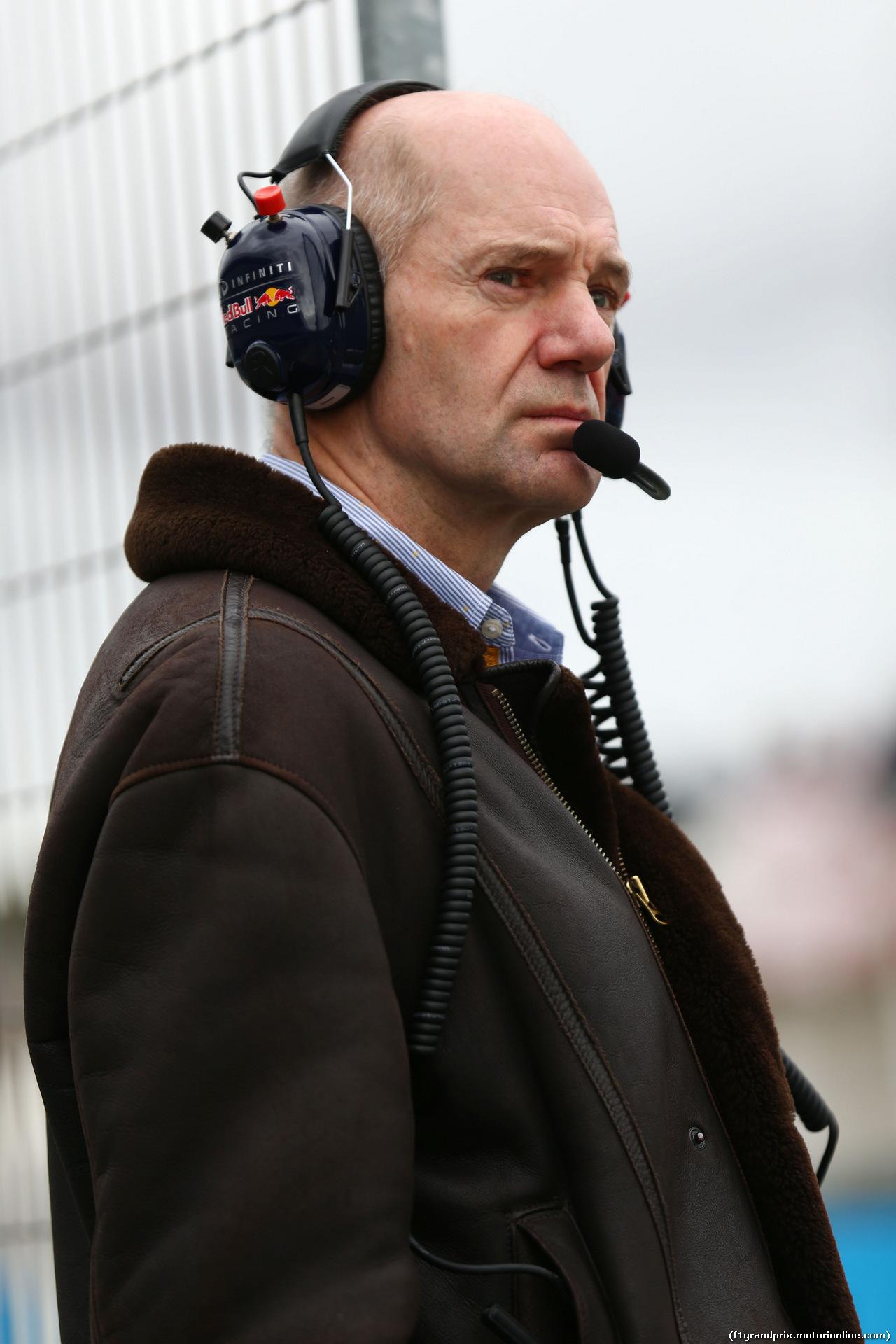 TEST F1 JEREZ 3 FEBBRAIO, Adrian Newey (GBR) Red Bull Racing Chief Technical Officer.<br /> 03.02.2015.