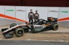FORCE INDIA VJM09, (L to R): Nico Hulkenberg (GER) Sahara Force India F1 with team mate e the Sahara Force India F1 VJM09. 22.02.2016.