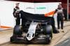 FORCE INDIA VJM09, (L to R): Nico Hulkenberg (GER) Sahara Force India F1 e Sergio Perez (MEX) Sahara Force India F1 unveil the Sahara Force India F1 VJM09. 22.02.2016.