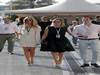 GP ABU DHABI, 27.11.2016 - (L-R) Vivian Sibold the wife of Nico Rosberg (GER)