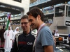 GP ABU DHABI, 27.11.2016 - Gara, Roger Federer (SUI) tennis player e Bernd Maylander (GER) FIA Safety Car Driver