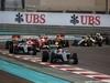 GP ABU DHABI, 27.11.2016 - Gara, Start of the race, Lewis Hamilton (GBR) Mercedes AMG F1 W07 Hybrid