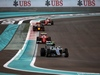 GP ABU DHABI, 27.11.2016 - Gara, Nico Rosberg (GER) Mercedes AMG F1 W07 Hybrid davanti a Kimi Raikkonen (FIN) Ferrari SF16-H