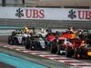 GP ABU DHABI, 27.11.2016 - Gara, Start of the race, Max Verstappen (NED) Red Bull Racing RB12 spins