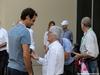 GP ABU DHABI, 27.11.2016 - Gara, Roger Federer (SUI) tennis player e Bernie Ecclestone (GBR), President e CEO of FOM