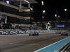 GP ABU DHABI, 27.11.2016 - Gara, Lewis Hamilton (GBR) Mercedes AMG F1 W07 Hybrid vincitore e Nico Rosberg (GER) Mercedes AMG F1 W07 Hybrid, 2nd place e champion 2016