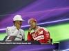 GP ABU DHABI, 27.11.2016 - Gara, Conferenza Stampa, Lewis Hamilton (GBR) Mercedes AMG F1 W07 Hybrid e Sebastian Vettel (GER) Ferrari SF16-H