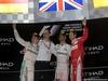 GP ABU DHABI, 27.11.2016 - Gara, 2nd place Nico Rosberg (GER) Mercedes AMG F1 W07 Hybrid e Champion 2016, Lewis Hamilton (GBR) Mercedes AMG F1 W07 Hybrid vincitore e 3rd place Sebastian Vettel (GER) Ferrari SF16-H