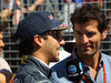 GP AUSTRALIA, 20.03.2016 - Daniel Ricciardo (AUS) Red Bull Racing RB12 e Mark Webber (AUS)