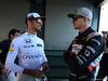 GP AUSTRALIA, 20.03.2016 - Jenson Button (GBR)  McLaren Honda MP4-31 e Nico Hulkenberg (GER) Sahara Force India F1 VJM09
