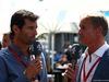 GP AUSTRALIA, 20.03.2016 - Mark Webber e David Coulthard (GBR)
