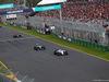GP AUSTRALIA, 20.03.2016 - Gara, Felipe Massa (BRA) Williams FW38 davanti a Lewis Hamilton (GBR) Mercedes AMG F1 W07 Hybrid
