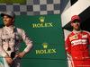 GP AUSTRALIA, 20.03.2016 - Gara, Nico Rosberg (GER) Mercedes AMG F1 W07 Hybrid vincitore e terzo Sebastian Vettel (GER) Ferrari SF16-H