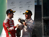 GP AUSTRALIA, 20.03.2016 - Gara, terzo Sebastian Vettel (GER) Ferrari SF16-H e secondo Lewis Hamilton (GBR) Mercedes AMG F1 W07 Hybrid