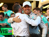 GP AUSTRALIA, 20.03.2016 - Gara, Festeggiamenti, Nico Rosberg (GER) Mercedes AMG F1 W07 Hybrid vincitore with Paddy Lowe (GBR) Mercedes AMG F1 Executive Director
