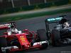 GP AUSTRALIA, 20.03.2016 - Gara, Sebastian Vettel (GER) Ferrari SF16-H e Lewis Hamilton (GBR) Mercedes AMG F1 W07 Hybrid