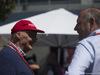 GP AUSTRALIA, 20.03.2016 - Nikki Lauda (AU), Mercedes e Ron Dennis (GBR) McLaren Executive Chairman