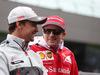 GP AUSTRIA, 03.07.2016 - Drivers Parade, from L to R: Esteban Gutierrez (MEX) Haas F1 Team VF-16, Kimi Raikkonen (FIN) Ferrari SF16-H
