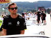GP BELGIO, Jolyon Palmer (GBR) Renault Sport F1 Team on the drivers parade. 28.08.2016.