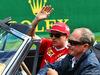 GP BELGIO, Kimi Raikkonen (FIN) Ferrari on the drivers parade. 28.08.2016.