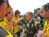 GP BELGIO, Kevin Magnussen (DEN) Renault Sport F1 Team on the grid. 28.08.2016. Gara