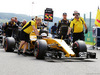 GP BELGIO, Kevin Magnussen (DEN) Renault Sport F1 Team RS16 on the grid. 28.08.2016. Gara