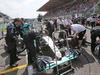 GP BELGIO, Nico Rosberg (GER) Mercedes AMG F1 W07 Hybrid on the grid. 28.08.2016. Gara