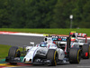 GP BELGIO, 28.08.2016 - Gara, Valtteri Bottas (FIN) Williams FW38 e Esteban Gutierrez (MEX) Haas F1 Team VF-16