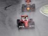 GP BRASILE, 13.11.2016 - Gara, Kimi Raikkonen (FIN) Ferrari SF16-H e Max Verstappen (NED) Red Bull Racing RB12
