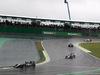 GP BRASILE, 13.11.2016 - Gara, Nico Hulkenberg (GER) Sahara Force India F1 VJM09 davanti a Sergio Perez (MEX) Sahara Force India F1 VJM09