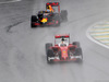 GP BRASILE, 13.11.2016 - Gara, Sebastian Vettel (GER) Ferrari SF16-H davanti a Daniel Ricciardo (AUS) Red Bull Racing RB12