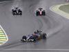 GP BRASILE, 13.11.2016 - Gara, Felipe Nasr (BRA) Sauber C34 davanti a Marcus Ericsson (SUE) Sauber C34 e Pascal Wehrlein (GER) Manor Racing MRT05