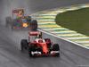 GP BRASILE, 13.11.2016 - Gara, Kimi Raikkonen (FIN) Ferrari SF16-H davanti a Max Verstappen (NED) Red Bull Racing RB12