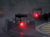 GP BRASILE, 13.11.2016 - Gara, Sergio Perez (MEX) Sahara Force India F1 VJM09 e Nico Hulkenberg (GER) Sahara Force India F1 VJM09