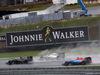 GP BRASILE, 13.11.2016 - Gara, Fernando Alonso (ESP) McLaren Honda MP4-31, Valtteri Bottas (FIN) Williams FW38 e Pascal Wehrlein (GER) Manor Racing MRT05