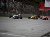 GP BRASILE, 13.11.2016 - Gara, Lewis Hamilton (GBR) Mercedes AMG F1 W07 Hybrid , Kevin Magnussen (DEN) Renault Sport F1 Team RS16 e Esteban Gutierrez (MEX) Haas F1 Team VF-16