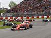 GP CANADA, 12.06.2016 - Gara, Start of the race, Sebastian Vettel (GER) Ferrari SF16-H