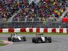 GP CANADA, 12.06.2016 - Gara, Felipe Massa (BRA) Williams FW38 e Sergio Perez (MEX) Sahara Force India F1 VJM09
