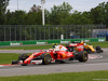 GP CANADA, 12.06.2016 - Gara, Kimi Raikkonen (FIN) Ferrari SF16-H e Kevin Magnussen (DEN) Renault Sport F1 Team RS16
