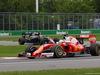 GP CANADA, 12.06.2016 - Gara, Sebastian Vettel (GER) Ferrari SF16-H e Fernando Alonso (ESP) McLaren Honda MP4-31