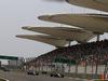 GP CINA, 17.04.2016 - Gara, Sergio Perez (MEX) Sahara Force India F1 VJM09 davanti a Nico Hulkenberg (GER) Sahara Force India F1 VJM09